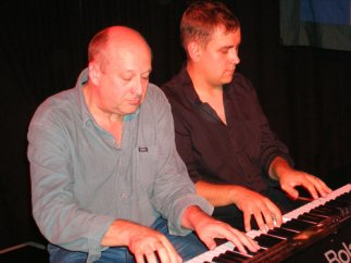 Greg duetting with Ben Walters